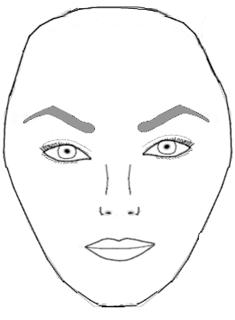форма лица алмаз прически