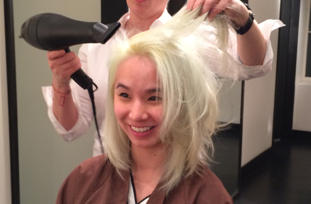 Как покрасить волосы в мятный цвет